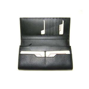 No.4 財布 TAHOE  二つ折長財布(ブラック)