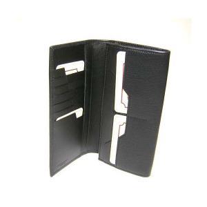 No.5 財布 TAHOE  二つ折長財布(ブラック)