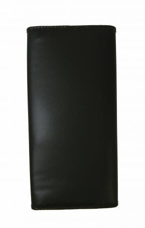 No.2 長財布 メンズ BATTUE ORIGIN 二つ折 (ブラック)