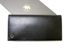ハンティングワールド KASHGAR  二つ折長財布(ブラック) MainPhoto