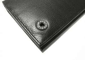 No.3 KASHGAR  二つ折長財布(ブラック)