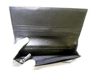 No.5 KASHGAR  二つ折長財布(ブラック)