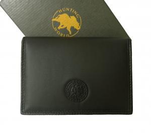 ハンティングワールド 名刺入れ  カードケース BATTUE ORIGIN バチュー(ブラック)