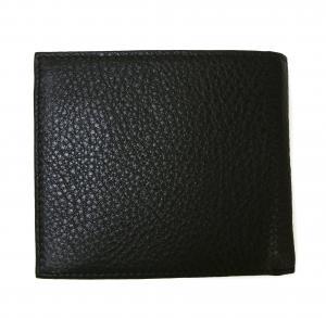 No.2 財布 メンズ 二つ折 KASHGAR (ブラック)