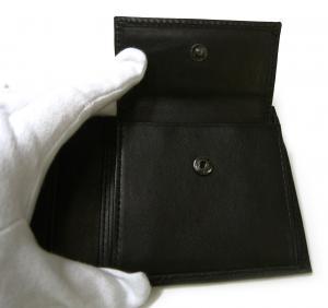 No.5 財布 メンズ 二つ折 KASHGAR (ブラック)