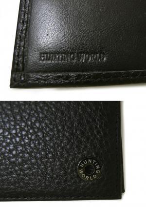 No.6 財布 メンズ 二つ折 KASHGAR (ブラック)