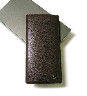 ハンティングワールド 長財布 二つ折 メンズ KASHGAR (ダークブラウン)