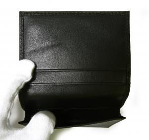 No.4 名刺入れ カードケース KASHGAR (ブラック)