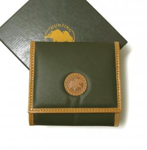 ハンティングワールド 小銭入れ コインケース バチュー 財布 BATTUE (グリーン)