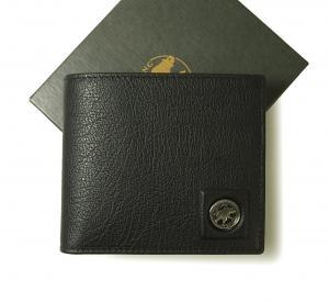 ハンティングワールド 財布 メンズ 二つ折 TAHOH (ブラック)
