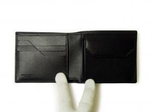 No.4 財布 メンズ 二つ折 TAHOH (ブラック)