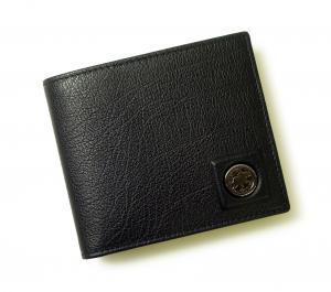 No.6 財布 メンズ 二つ折 TAHOH (ブラック)