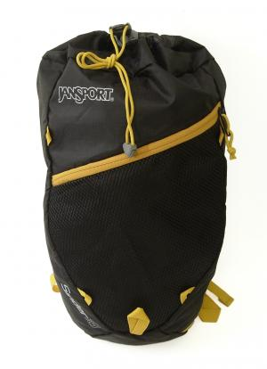 ジャンスポーツ デイパック  リュックサック ブラック 軽量 約200グラム 通気性  SINDER18