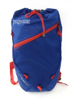 ジャンスポーツ デイパック リュック サック ブルー  軽量 約200グラム 通気性 SINDER18