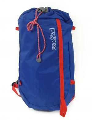 ジャンスポーツ リュックサック バックパック ブルー  軽量 約200グラム 通気性 SINDER15
