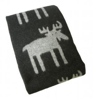 クリッパン ブランケット ウール シングル 暖かい 毛布 北欧 MOOSE 130×180cm