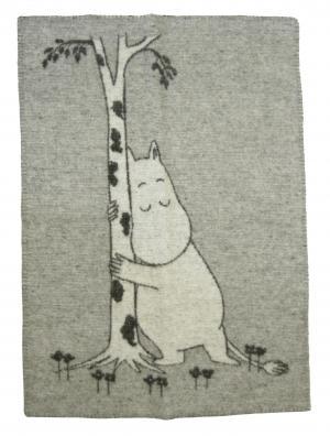 クリッパン ブランケット ムーミン MOOMIN TREE HUG ひざ掛け  ウール 北欧 65×90cm