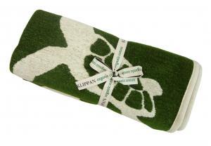 クリッパン ブランケット ひざ掛け おしゃれ 綿 オーガニックコットン シェニール 北欧 TURTLE 70×90cm