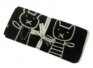 クリッパン ブランケット ひざ掛け  綿 オーガニックコットン シェニール 北欧 HUG 70×90cm