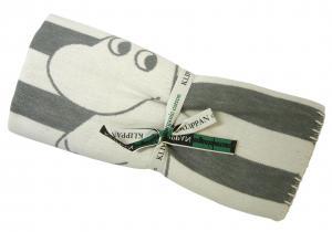 クリッパン ブランケット ムーミン MOOMIN ひざ掛け 綿 ブラッシュオーガニックコットン 北欧 70×90cm