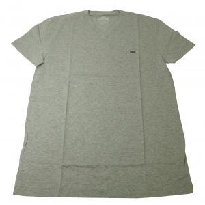No.2 Tシャツ  ピマ・コットン Vネック 5(M)サイズ (グレー)