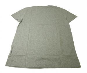 No.3 Tシャツ  ピマ・コットン Vネック 5(M)サイズ (グレー)