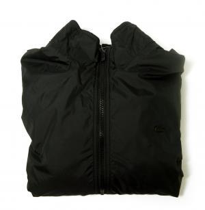 ラコステ LACOSTE リバーシブルボンバージャケット(ブラック)