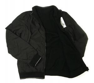 No.3 LACOSTE リバーシブルボンバージャケット(ブラック)