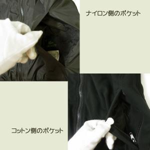 No.7 LACOSTE リバーシブルボンバージャケット(ブラック)