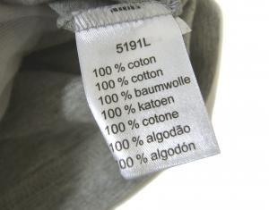 No.5 Tシャツ ピマ・コットン (グレー)