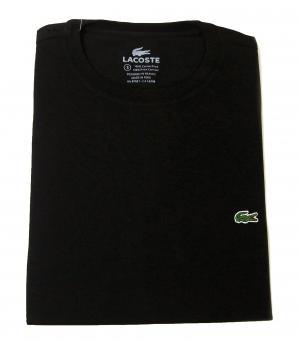 ラコステ Tシャツ ピマ・コットン 2(XXS)サイズ(ブラック)