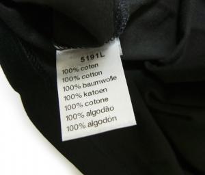 No.5 Tシャツ ピマ・コットン 2(XXS)サイズ(ブラック)