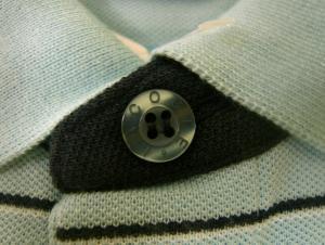 No.6 ポロシャツ (ドリスブルー・水色) 5(M)サイズ