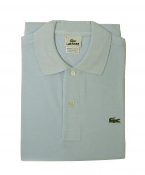 ラコステ ポロシャツ (サックスブルー) 2(XXS)サイズ