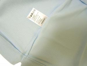 No.6 ポロシャツ (サックスブルー) 2(XXS)サイズ