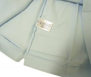 No.7 ポロシャツ (サックスブルー) 2(XXS)サイズ