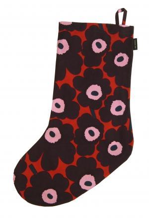 マリメッコ クリスマス オーナメント 靴下型 ソックス型 ウニッコ Mini Unikko