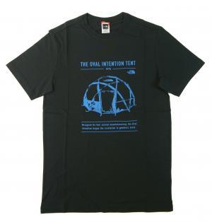 ザノースフェイス Tシャツ メンズ アーバンネイビー 綿 Graphic Tee