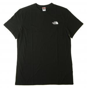 ザノースフェイス Tシャツ メンズ ブラック コットン 綿 Simple Dome Tee