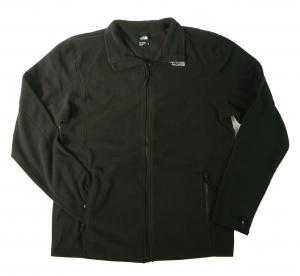 ザノースフェイス フリース ジャケット メンズ ブラック 100 Glacier Full Zip