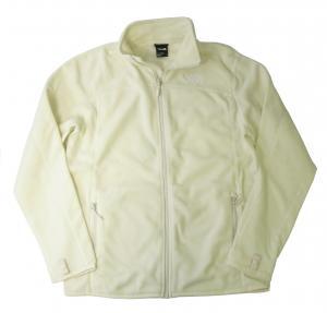 ザノースフェイス フリース ジャケット メンズ ヴィンテージホワイト 100 Glacier Full Zip