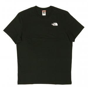 ザノースフェイス Tシャツ メンズ ブラック 黒 綿 レッドボックス Redbox Cel Te