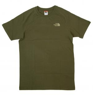 ザノースフェイス Tシャツ メンズ カーキグリーン コットン 綿 North Face Tee