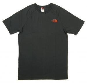 ザノースフェイス Tシャツ メンズ ネイビー コットン 綿 North Face Tee