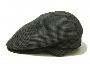 ポールスミス ハンチング 帽子 (グレー千鳥格子) Sサイズ