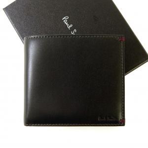 ポールスミス 財布 メンズ 二つ折 (ブラック/ミニクーパー) MainPhoto