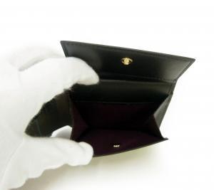 No.6 財布 メンズ 二つ折 (ブラック/ミニクーパー)