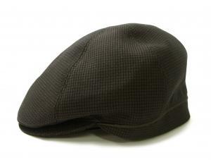 ポールスミス ハンチング 帽子 (ブラウン千鳥格子) Sサイズ(頭周り55.5cm)