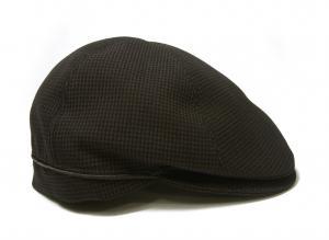 No.3 ハンチング 帽子 (ブラウン千鳥格子) Sサイズ(頭周り55.5cm)