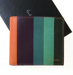 ポールスミス 財布 リフレッシュストライププリント 二つ折 MainPhoto
